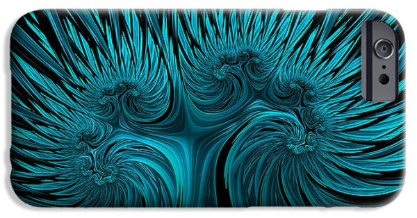 Recently Sold -  - Power iPhone Cases - Blue Hydra iPhone Case by John Edwards