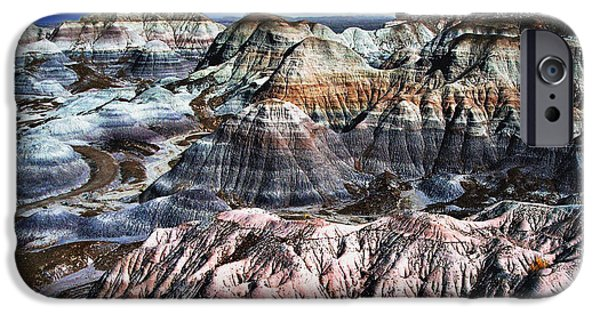 Bobcats Digital iPhone Cases - Blue Mesa - Painted Desert iPhone Case by  Bob and Nadine Johnston