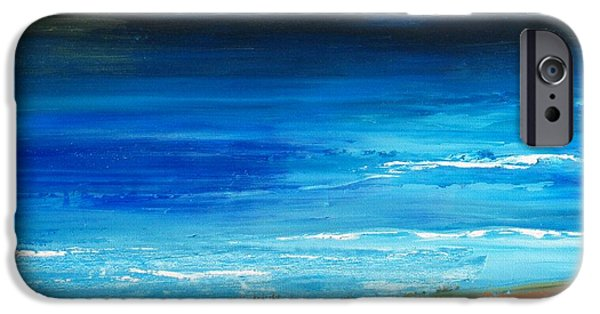 Recently Sold -  - Mist iPhone Cases - Blue Mist over Nantucket Island iPhone Case by Conor Murphy