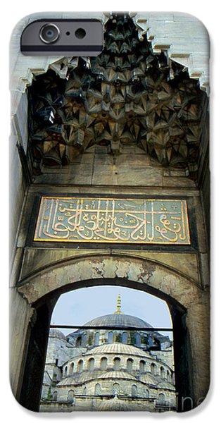 Blue Mosque Gate iPhone Case by Eva Kato