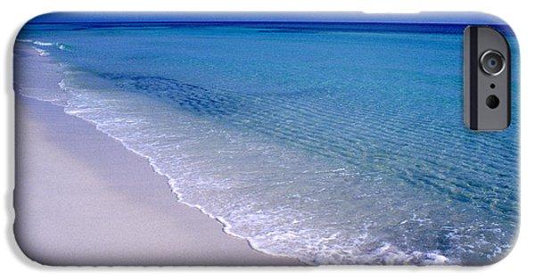 Fletcher iPhone Cases - Blue Mountain Beach iPhone Case by Thomas R Fletcher