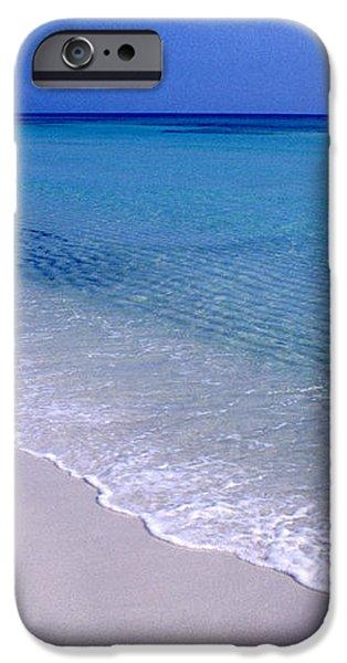 Blue Mountain Beach iPhone Case by Thomas R Fletcher