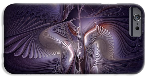 Poetic iPhone Cases - Blue Nights iPhone Case by Karin Kuhlmann