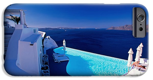 Escape iPhone Cases - Blue Paradise iPhone Case by Aiolos Greek Collections