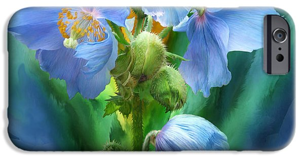 Himalayan Blue Poppy Bouquet Himalayan Blue Poppy iPhone