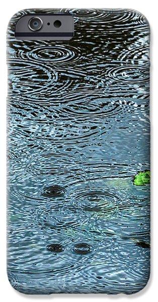 Blue Rain - Featured 3 iPhone Case by Alexander Senin