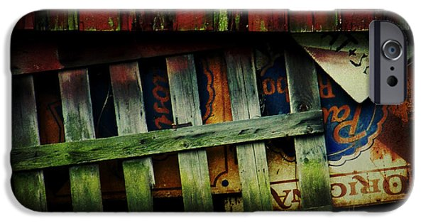 Maryland Barn Photographs iPhone Cases - Blue Ribbon Landscape iPhone Case by Rebecca Sherman
