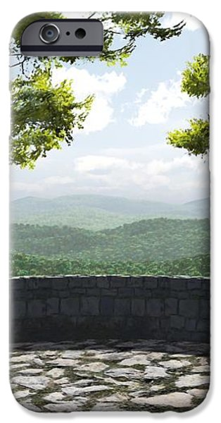 Blue Ridge iPhone Case by Cynthia Decker