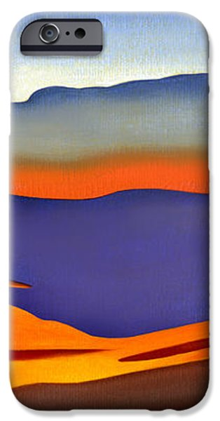 Blue Ridge Mountains East Fall Art Abstract iPhone Case by Catherine Twomey