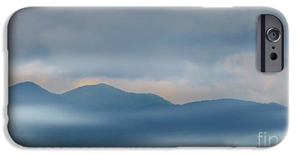 Struckle iPhone Cases - Blue Ridge Mountains iPhone Case by Kathleen Struckle