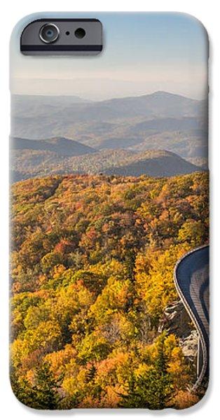 Blue Ridge Parkway in Peak Autumn Colors iPhone Case by Pierre Leclerc Photography