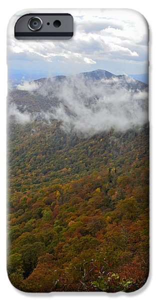 Blue Ridge Parkway Mountain View iPhone Case by Susan Leggett