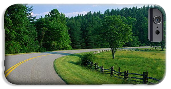 Blue Ridge Parkway iPhone Cases - Blue Ridge Parkway Nc iPhone Case by Panoramic Images