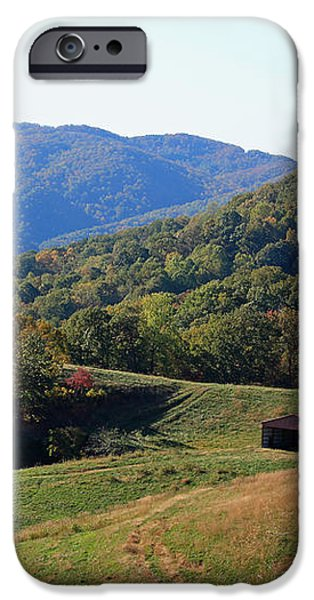 Blue Ridge Scenic iPhone Case by Suzanne Gaff