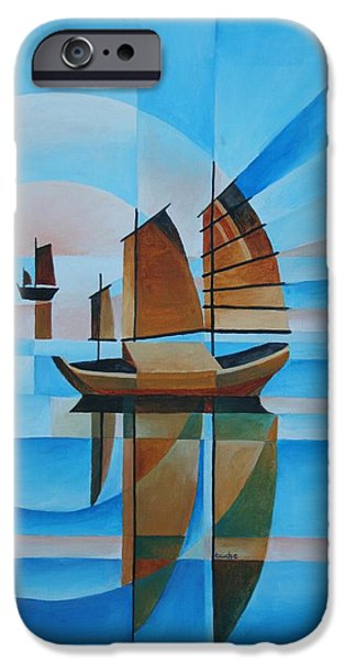 Blue Skies and Cerulean Seas iPhone Case by Tracey Harrington-Simpson