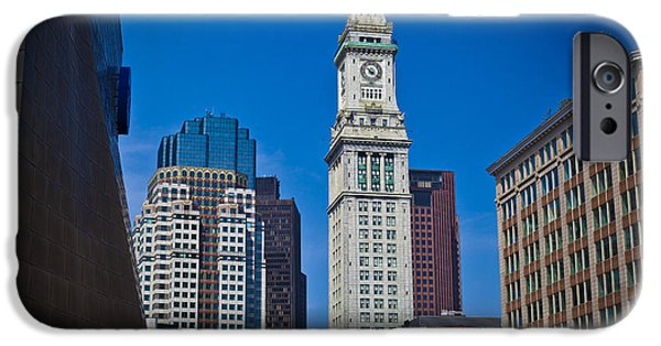 Boston Ma iPhone Cases - Blue Skies iPhone Case by Jason Moynihan