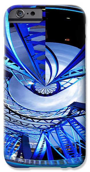 Blue Steel iPhone Case by Evie Carrier