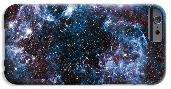 The Hatchery iPhone Cases - Blue Storm  iPhone Case by The  Vault - Jennifer Rondinelli Reilly
