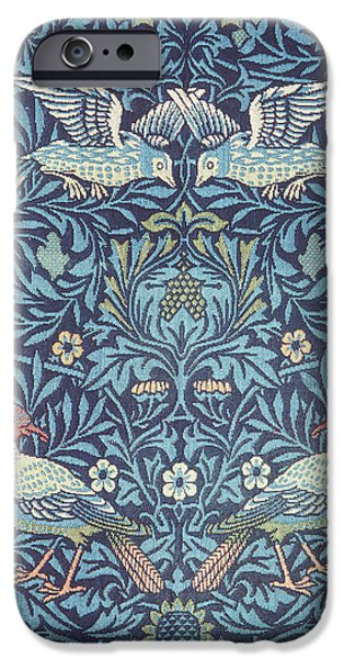 Blue Tapestry iPhone Case by William Morris