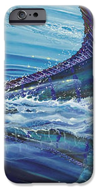 Blue Tranquility Off0051 iPhone Case by Carey Chen