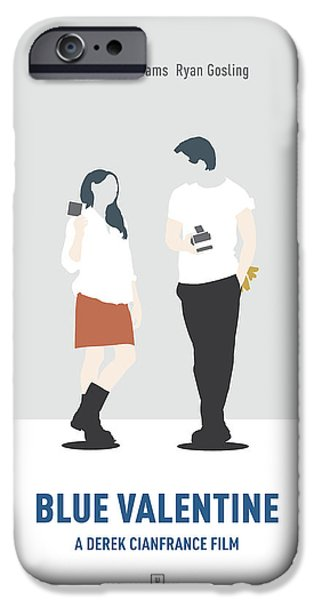 Michelle iPhone Cases - Blue Valentine iPhone Case by Smile In The  Mind
