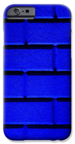 Blue Wall iPhone Case by Semmick Photo