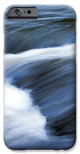 Blue Waltz iPhone Case by Glenn Gordon