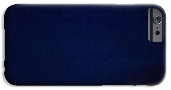Torn iPhone Cases - Blue iPhone Case by Yoann Jean-Montcler