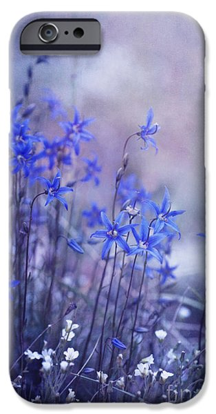 July iPhone Cases - Bluebell Heaven iPhone Case by Priska Wettstein