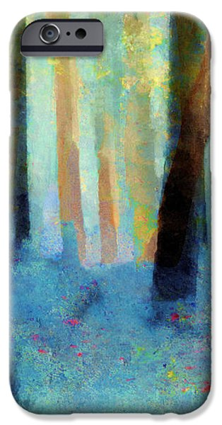 Bluebell Wood iPhone Case by Valerie Anne Kelly