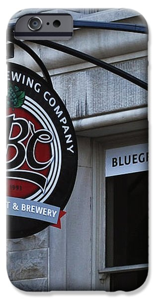Bluegrass Brewing Company iPhone Case by Greg Jackson