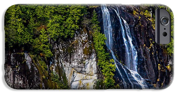 Canada Photograph iPhone Cases - Bluish iPhone Case by Robert Bales