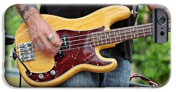 Guitars iPhone Cases - Bm-5 iPhone Case by Thomas Medaris