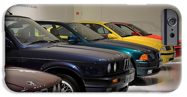 Technology iPhone Cases - BMW cars through the years iPhone Case by Imran Ahmed