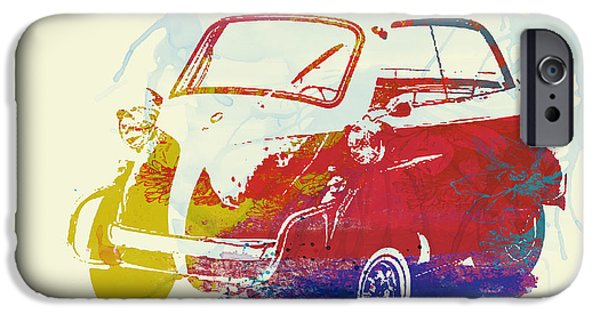 Concept iPhone Cases - BMW Isetta iPhone Case by Naxart Studio