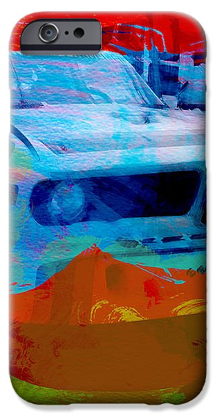 BMW Laguna Seca iPhone Case by Naxart Studio
