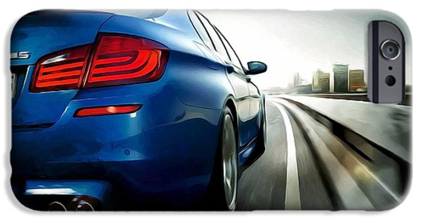 Best Sellers -  - Concept Paintings iPhone Cases - Bmw iPhone Case by Lanjee Chee