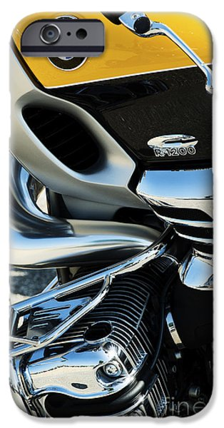 Boxer Photographs iPhone Cases - Bmw R1200c iPhone Case by Tim Gainey