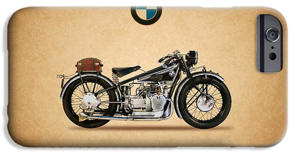 Bmw iPhone Cases - Bmw R62 1929 iPhone Case by Mark Rogan
