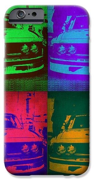 BMW Racing Pop Art 1 iPhone Case by Naxart Studio
