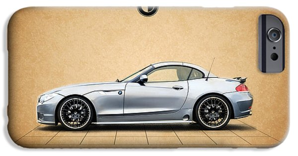 Bmw iPhone Cases - Bmw Z4 iPhone Case by Mark Rogan