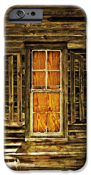 Boarded Window iPhone Case by Marty Koch