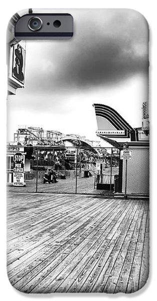 Boardwalk Angles iPhone Case by John Rizzuto