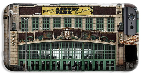 Asbury Park iPhone Cases - Boardwalk Colors iPhone Case by John Rizzuto