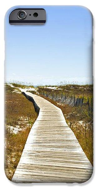 Boardwalk iPhone Case by Susan Leggett