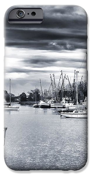 Boat Blues iPhone Case by John Rizzuto