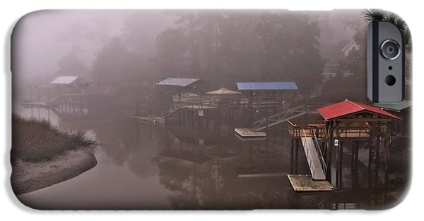 Glynn iPhone Cases - Boat House Row iPhone Case by Laura Ragland