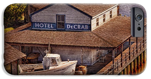 Best Sellers -  - Pirate Ship iPhone Cases - Boat - Tuckerton Seaport - Hotel DeCrab  iPhone Case by Mike Savad