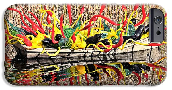 Arizonia iPhone Cases - Boatful of Art iPhone Case by Elizabeth Winter