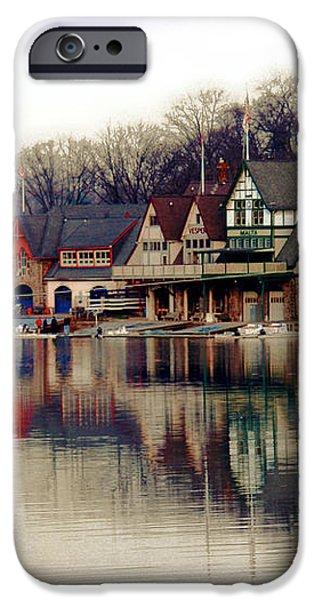 BoatHouse Row Philadelphia iPhone Case by Tom Gari Gallery-Three-Photography